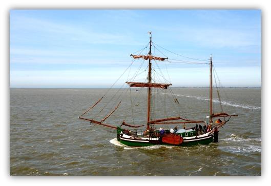 Segelschiff Meer