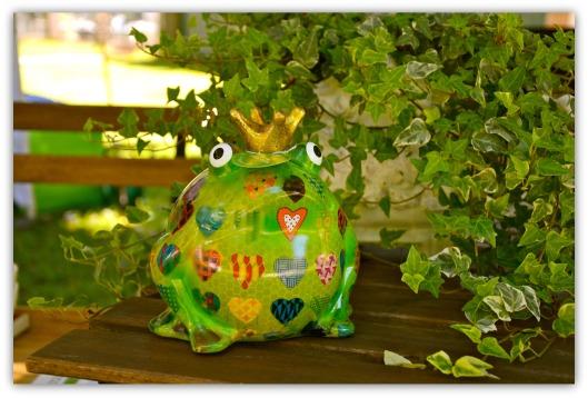 Froschkönig mit Herz