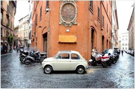 Kultauto Fiat 500