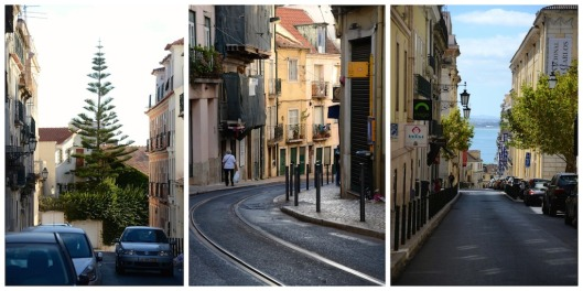 Gassen Lissabon