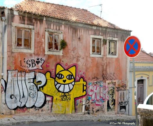 Graffiti-Lissabon