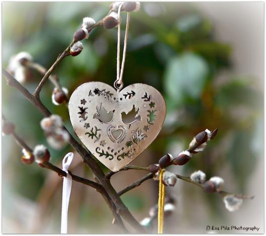 Herz Osterstrauch