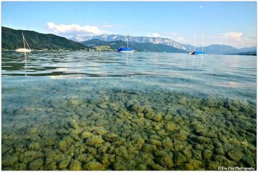 Abend am Attersee