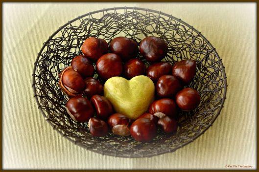 Kastanien mit Herz